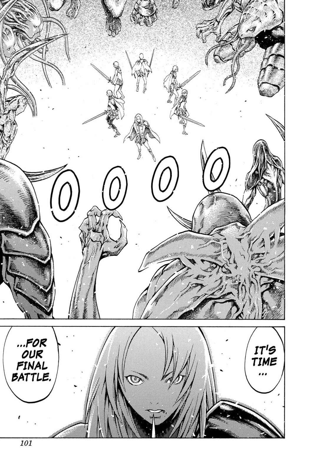 Claymore Chapter 61 Page 7