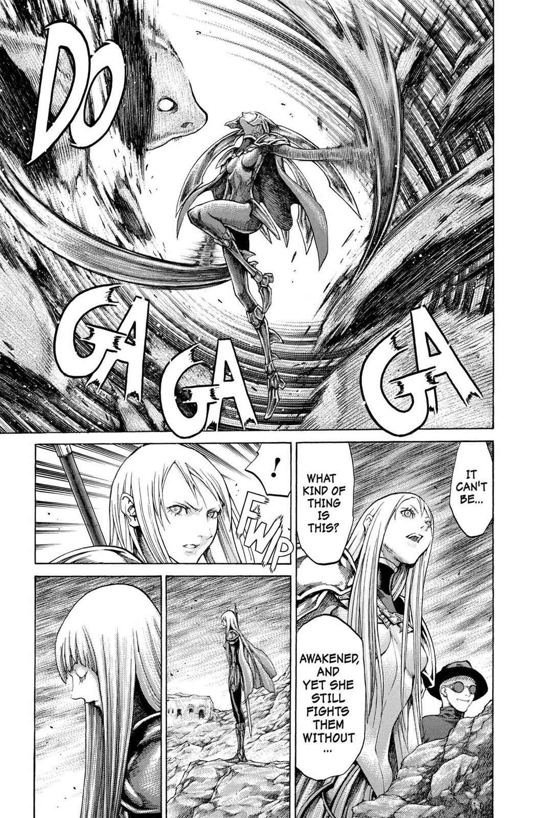 Claymore Chapter 62 Page 15