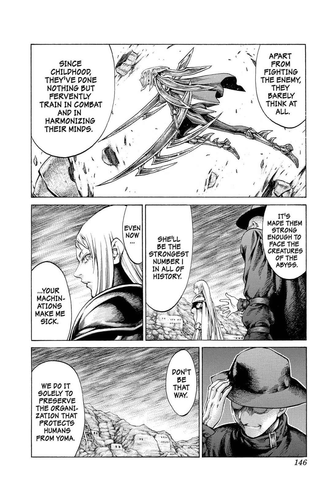 Claymore Chapter 62 Page 18