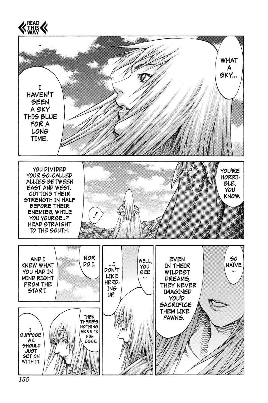 Claymore Chapter 62 Page 27
