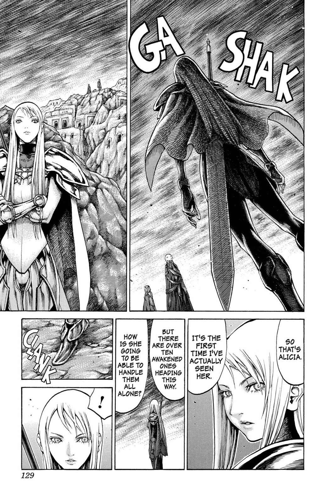 Claymore Chapter 62 Page 4