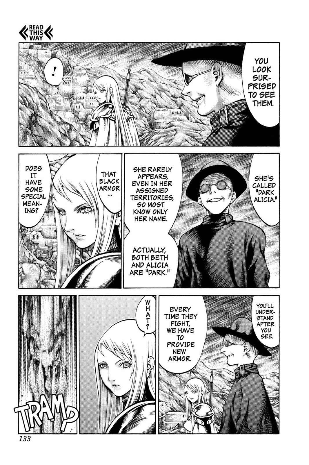 Claymore Chapter 62 Page 7
