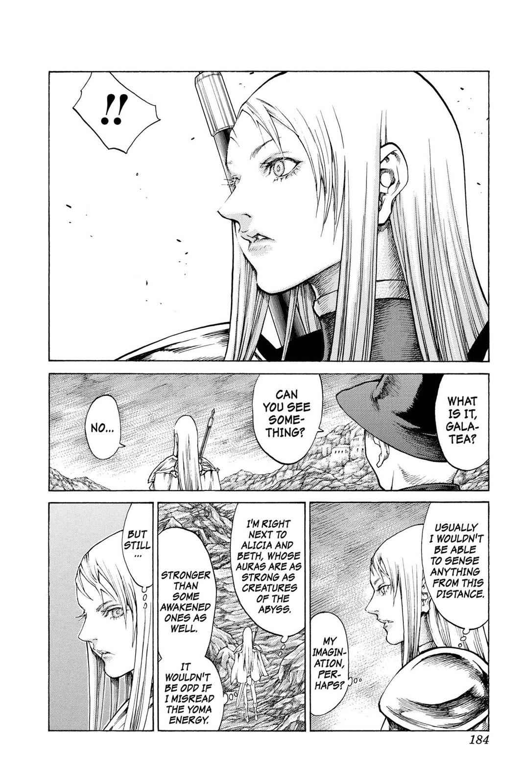 Claymore Chapter 63 Page 22