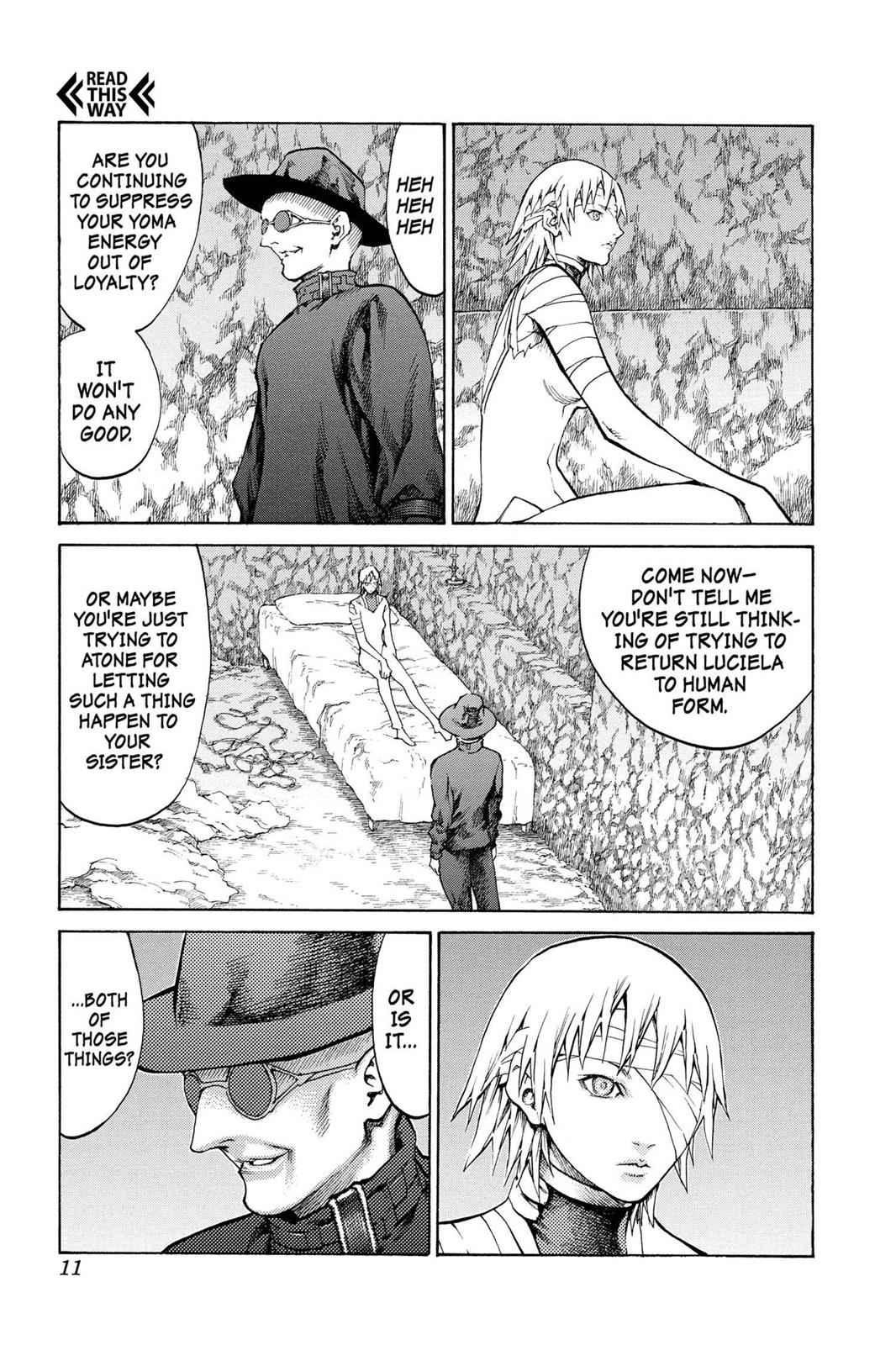 Claymore Chapter 64 Page 11