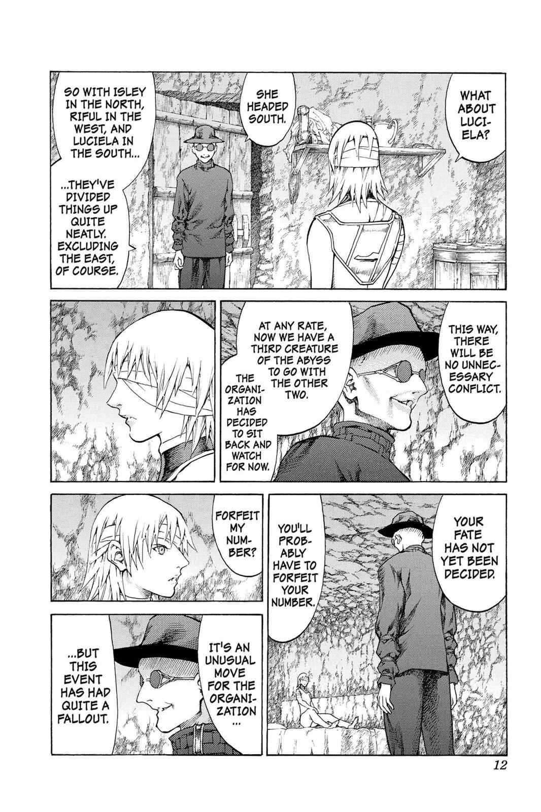 Claymore Chapter 64 Page 12