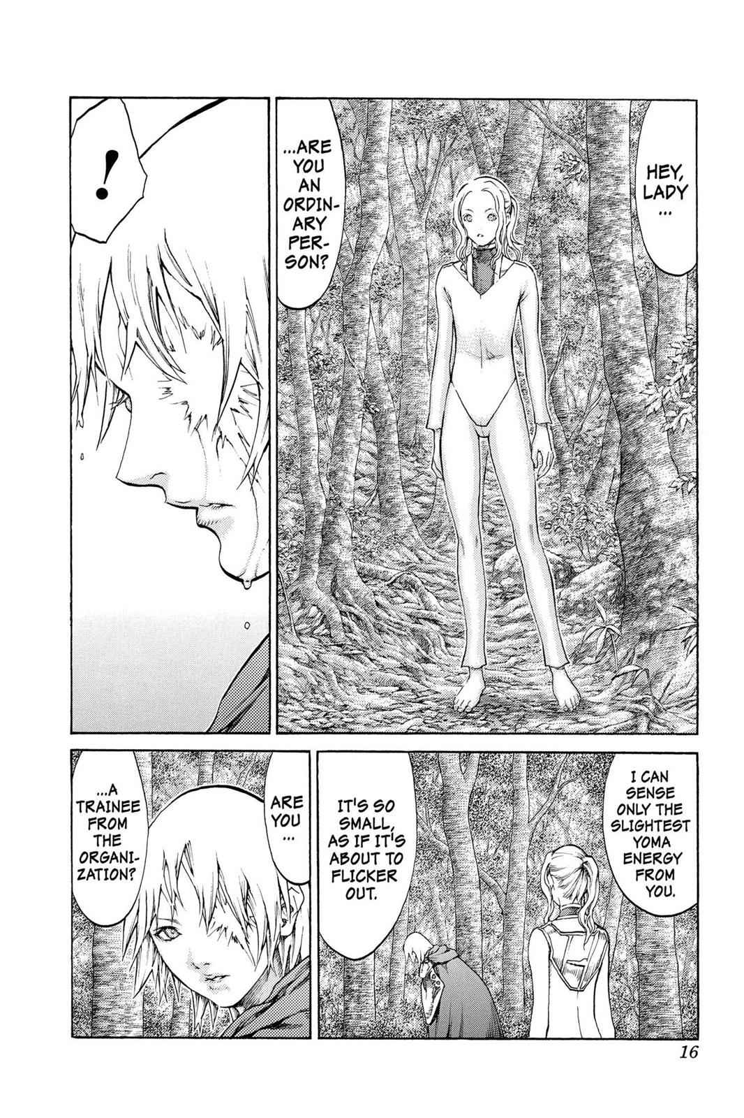 Claymore Chapter 64 Page 16
