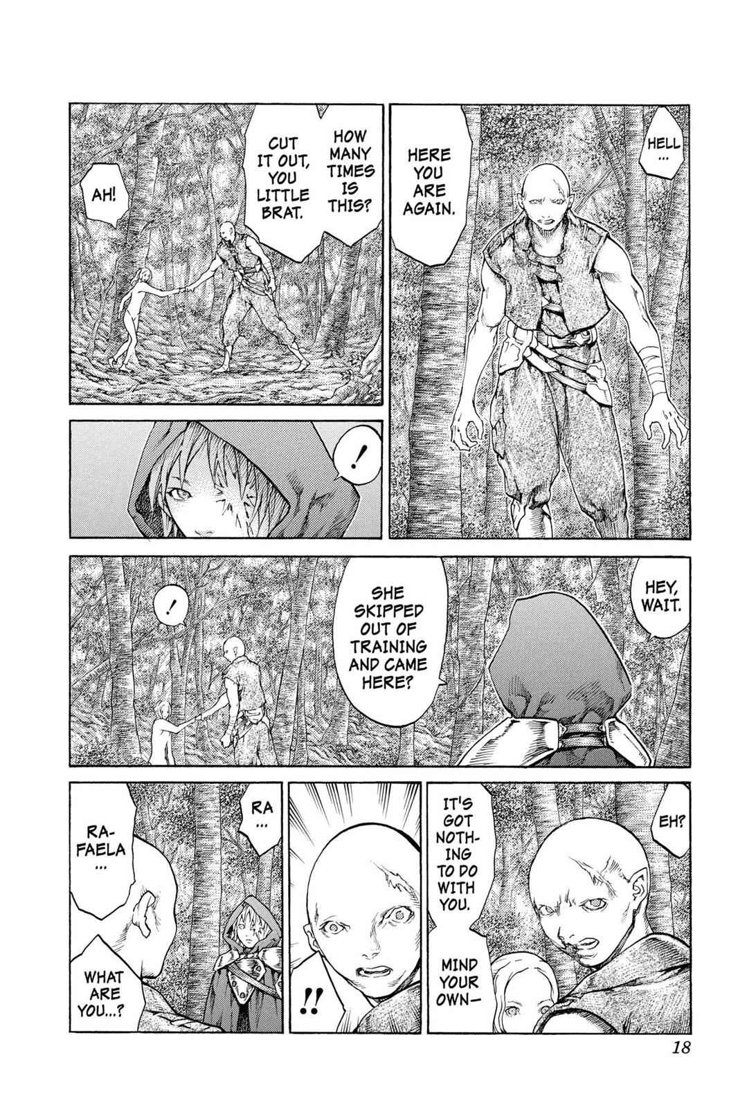 Claymore Chapter 64 Page 18