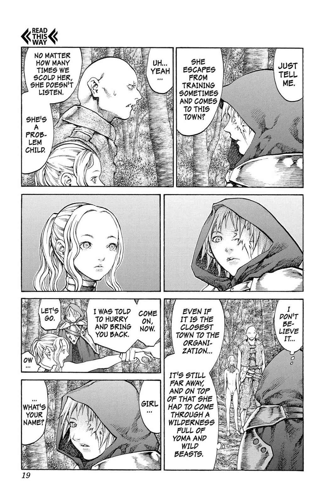 Claymore Chapter 64 Page 19