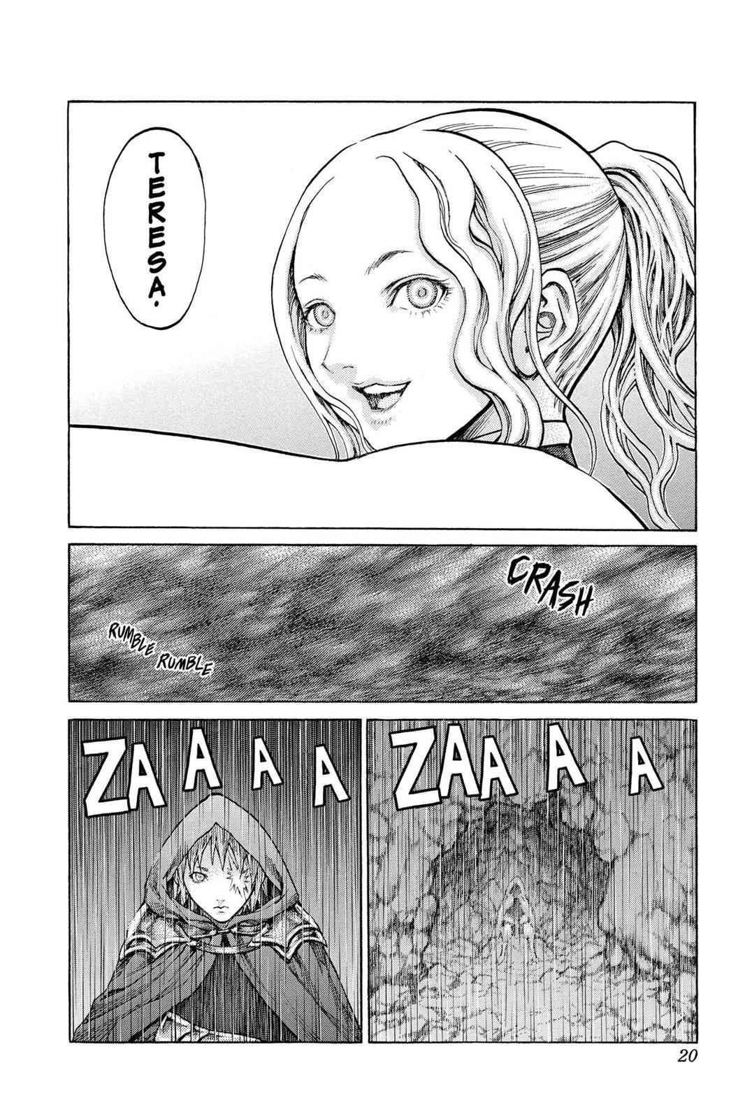 Claymore Chapter 64 Page 20