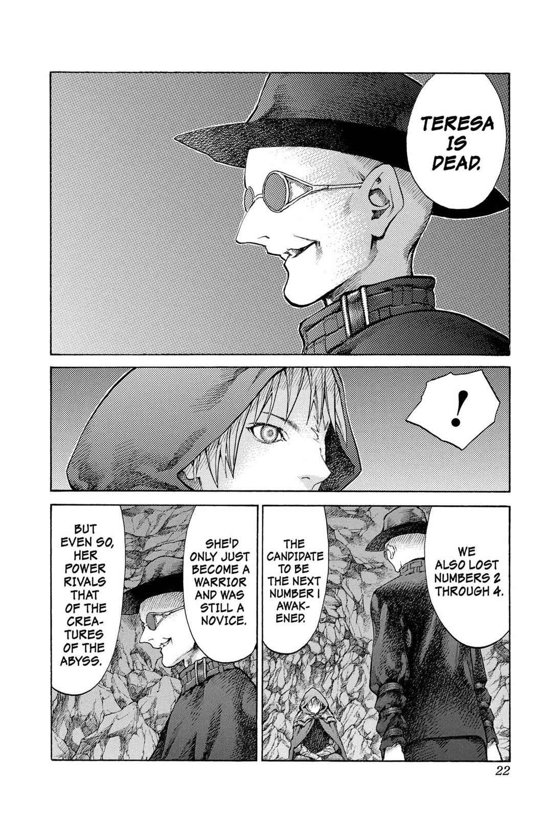 Claymore Chapter 64 Page 22