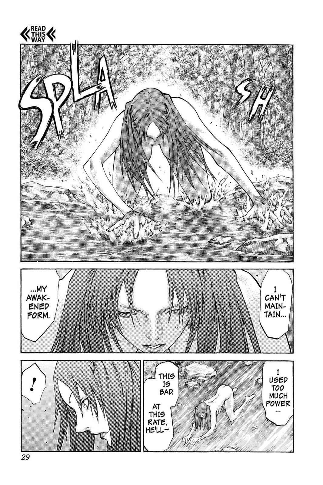Claymore Chapter 64 Page 29