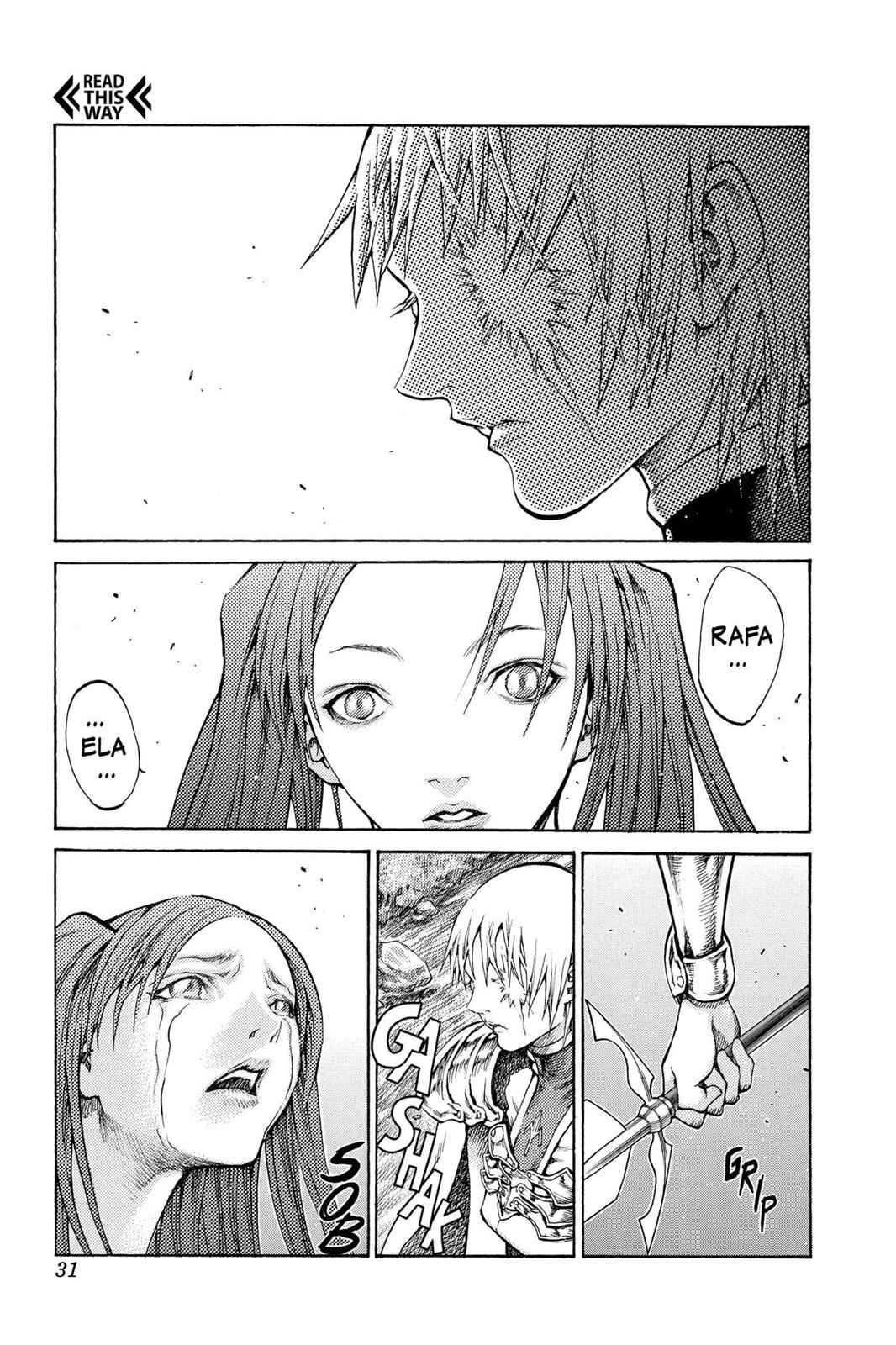 Claymore Chapter 64 Page 31