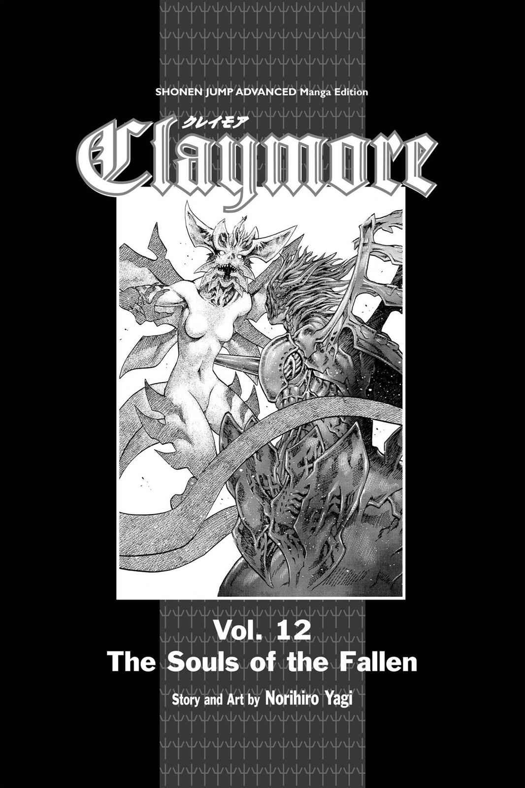 Claymore Chapter 64 Page 4