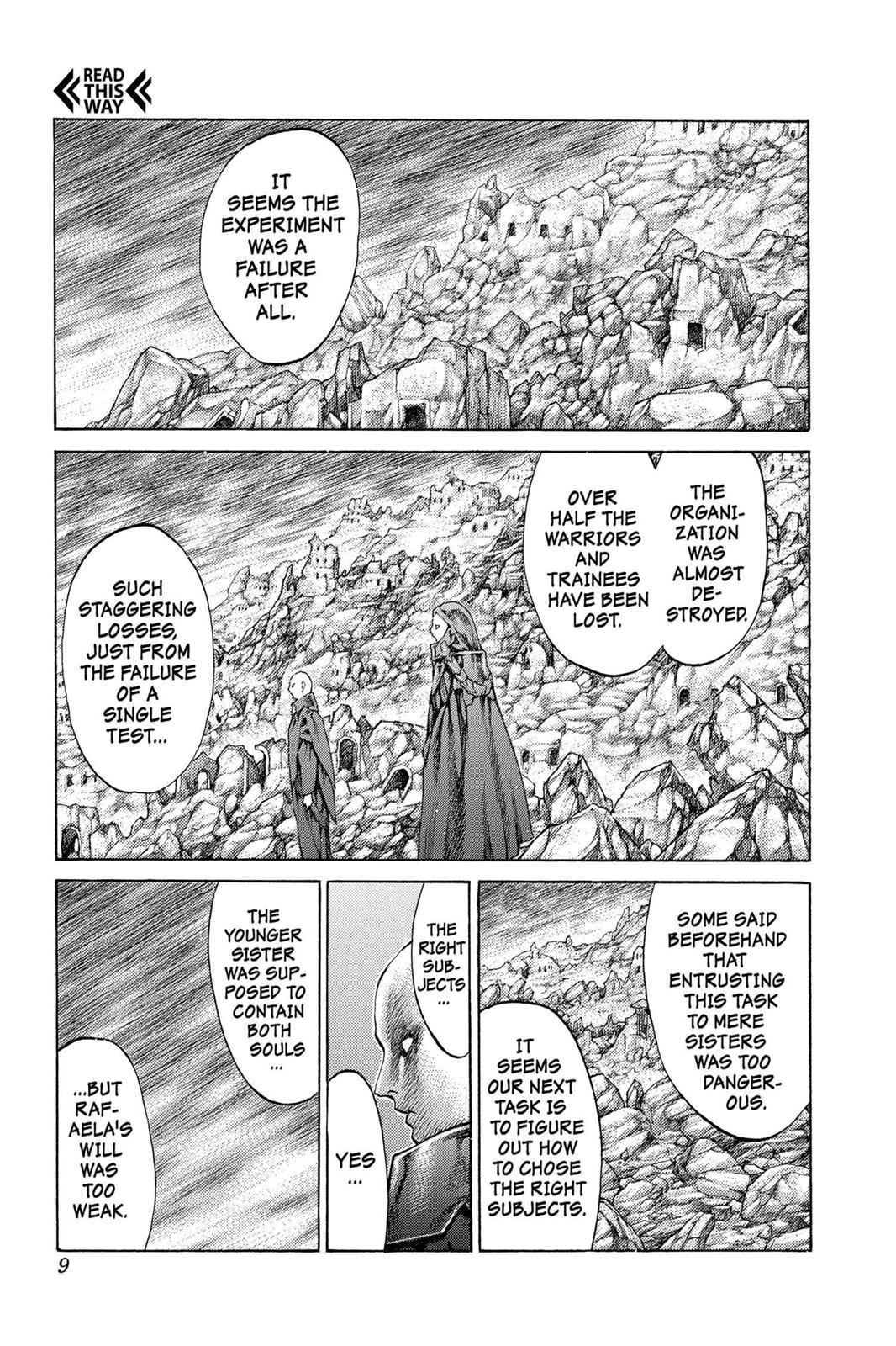 Claymore Chapter 64 Page 9