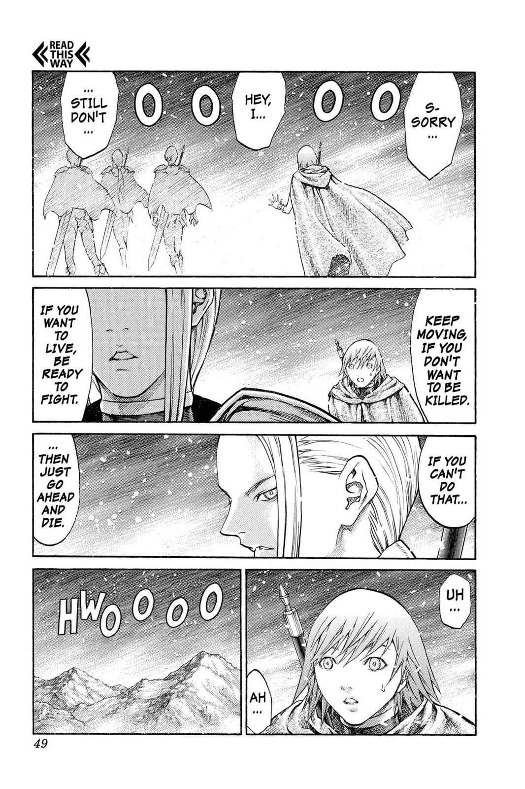Claymore Chapter 65 Page 10