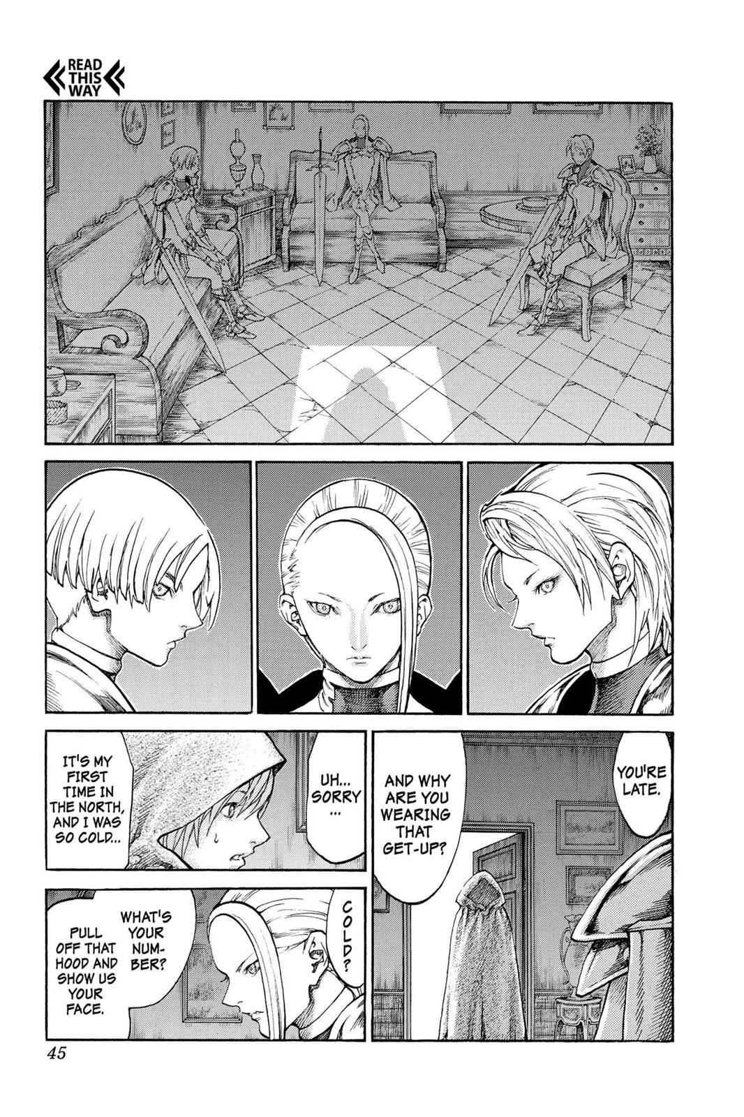 Claymore Chapter 65 Page 6