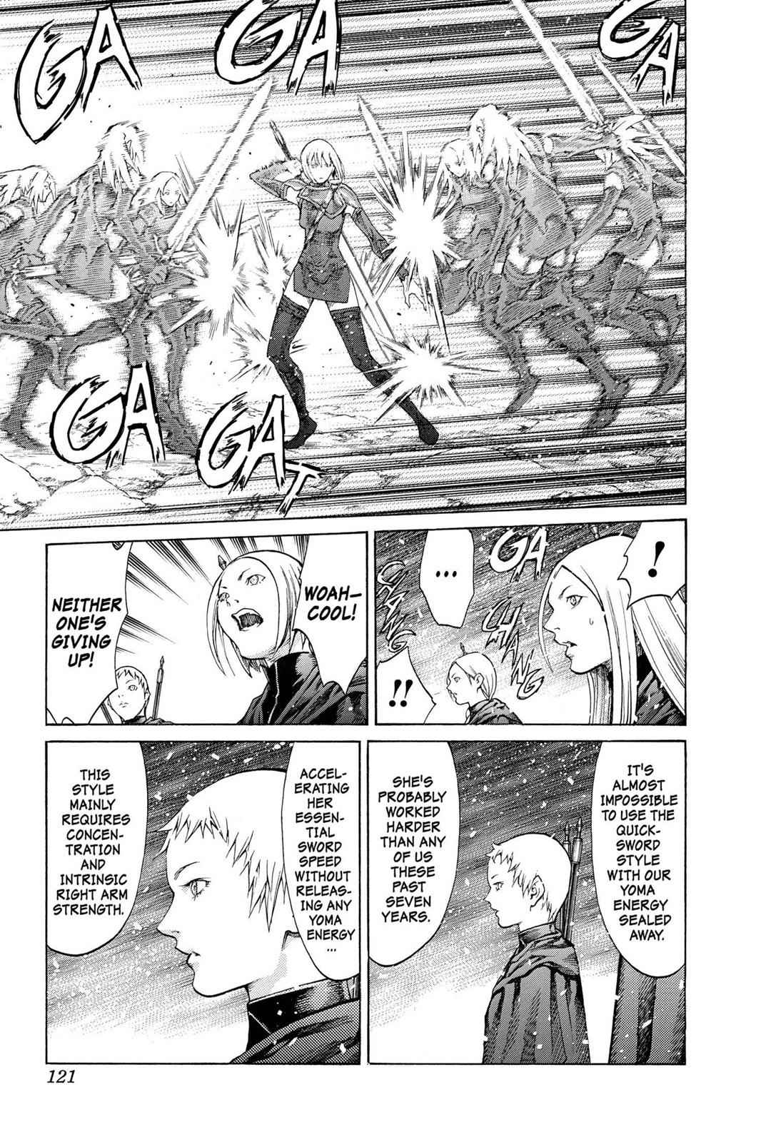 Claymore Chapter 67 Page 17