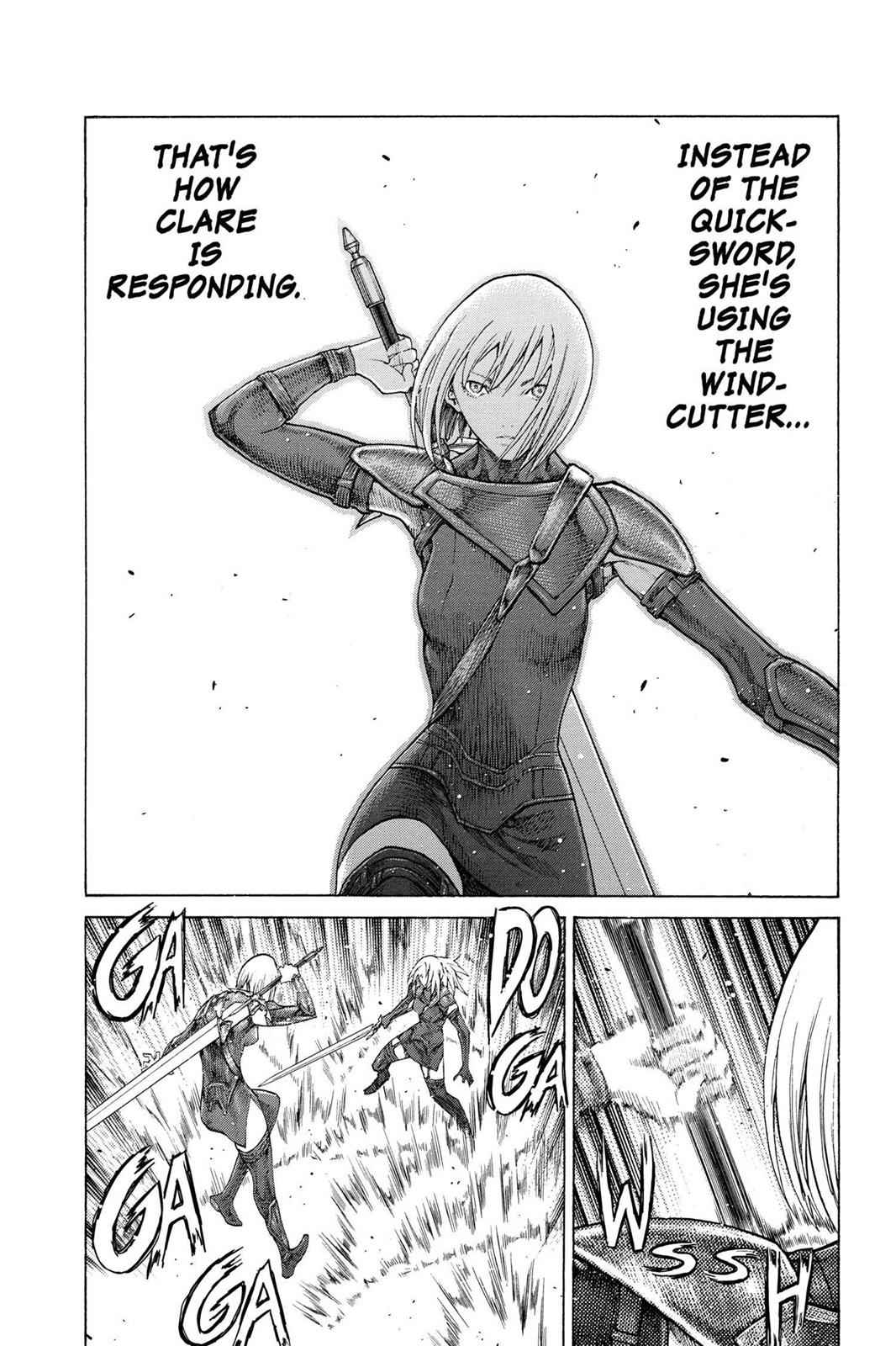 Claymore Chapter 67 Page 18