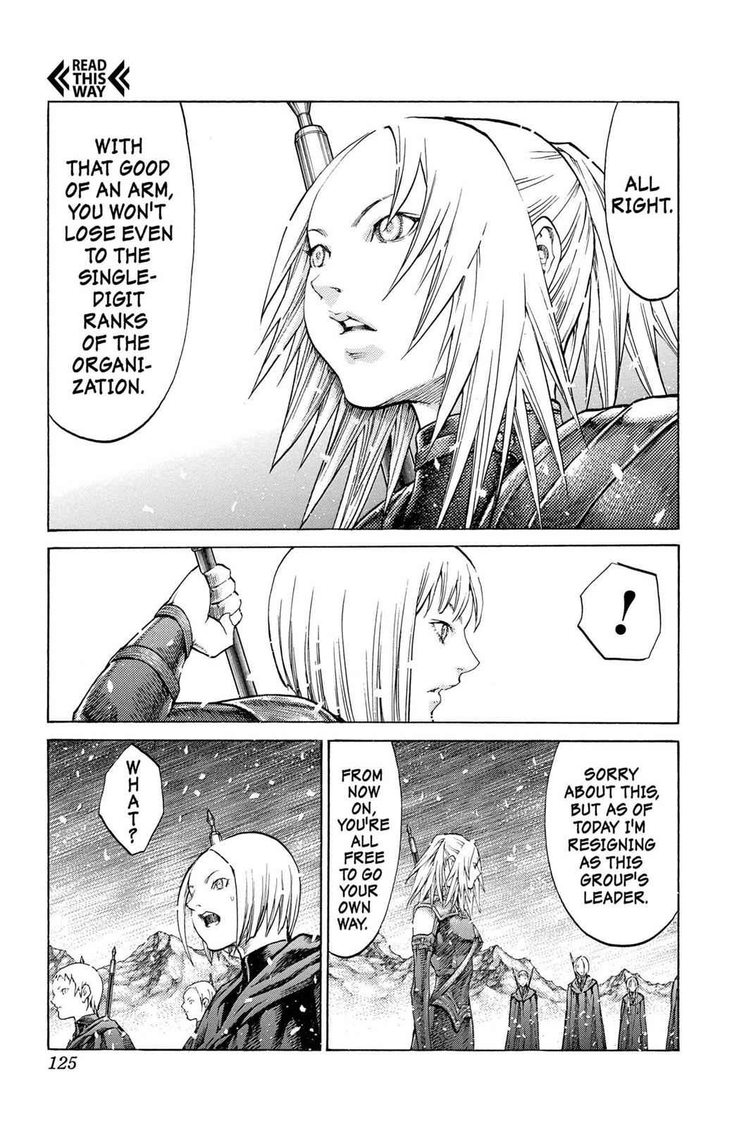 Claymore Chapter 67 Page 21