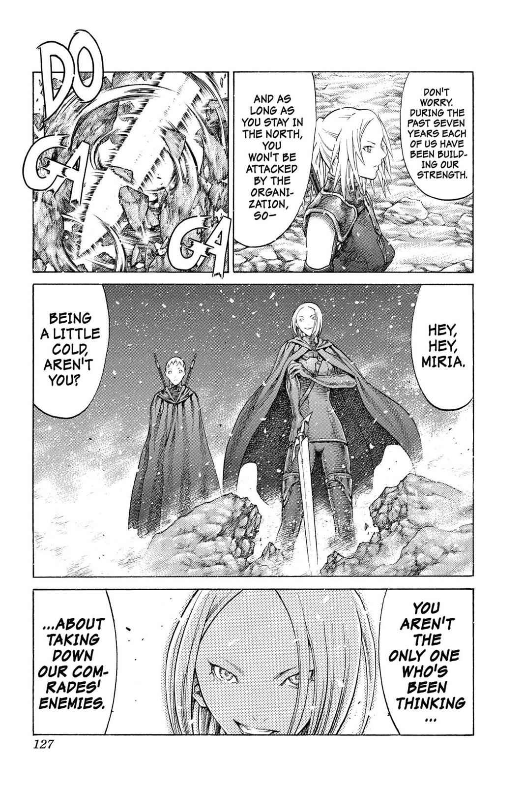 Claymore Chapter 67 Page 23