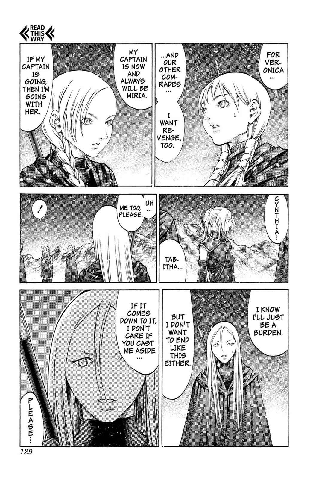 Claymore Chapter 67 Page 25