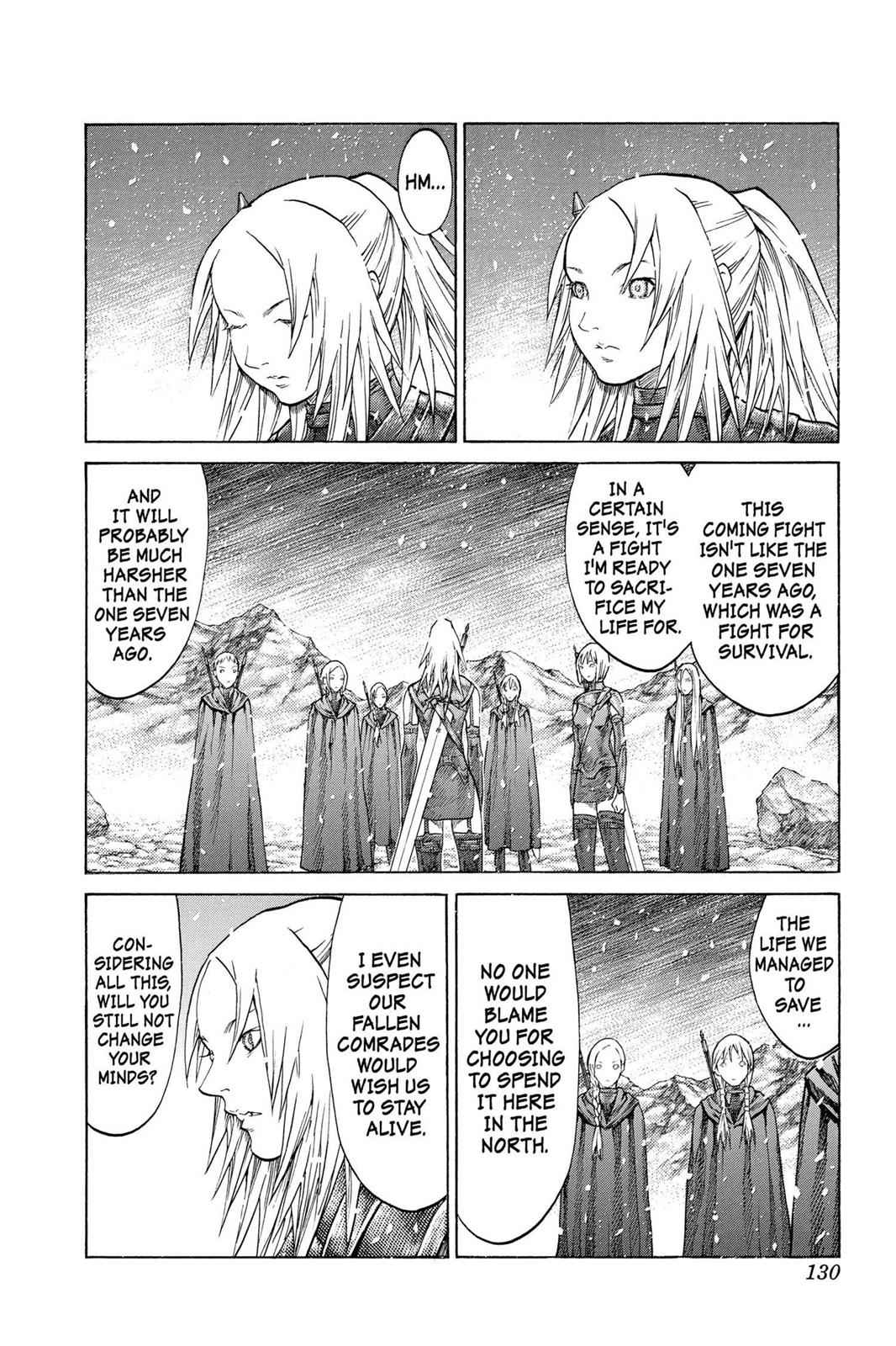 Claymore Chapter 67 Page 26