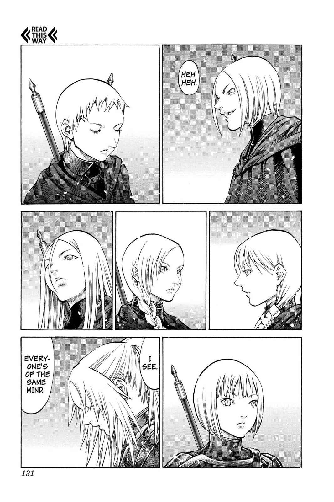 Claymore Chapter 67 Page 27
