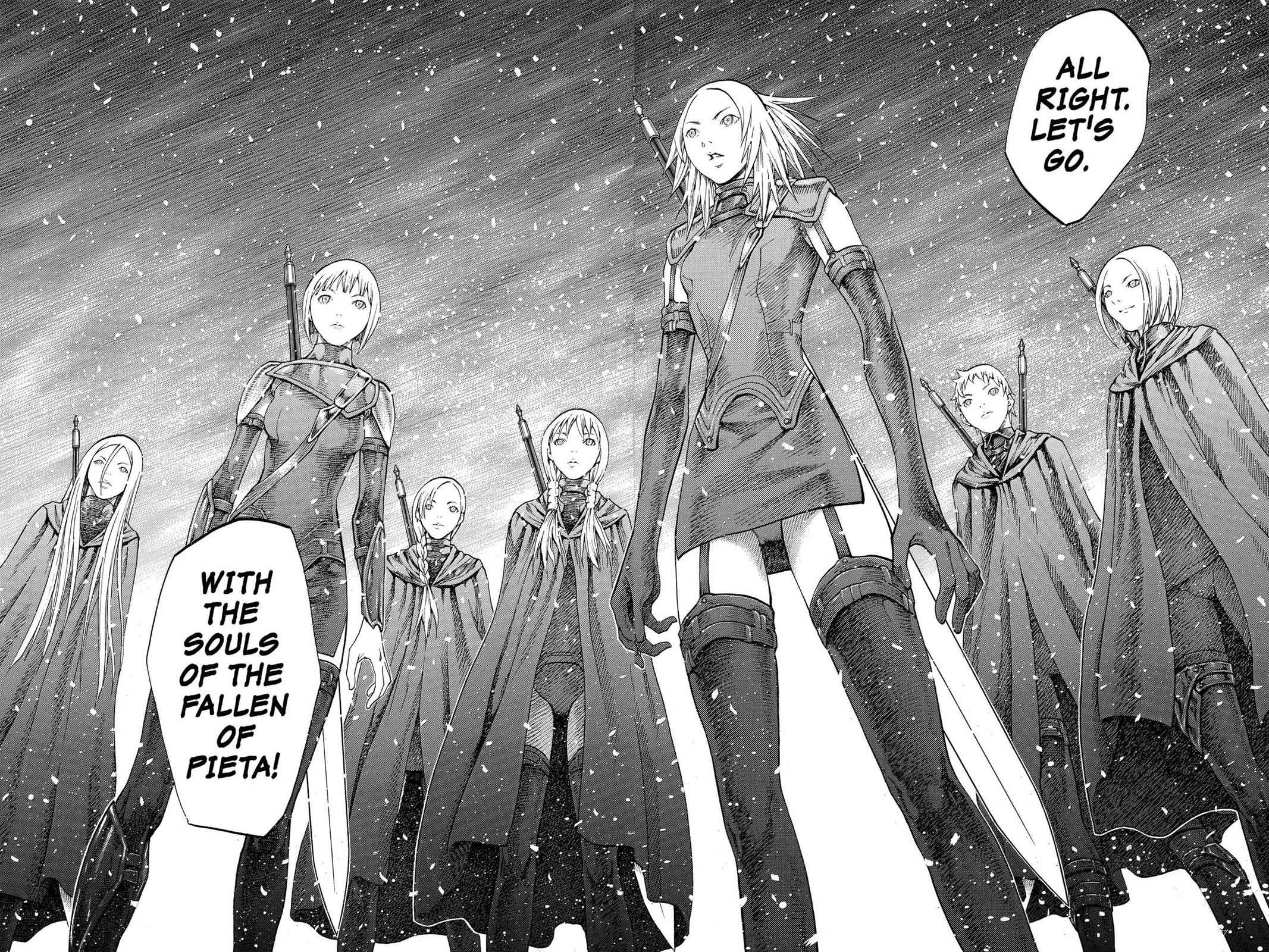 Claymore Chapter 67 Page 28