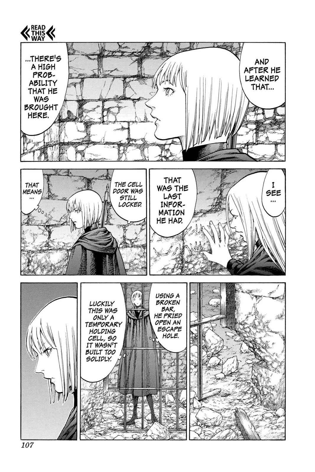 Claymore Chapter 67 Page 4