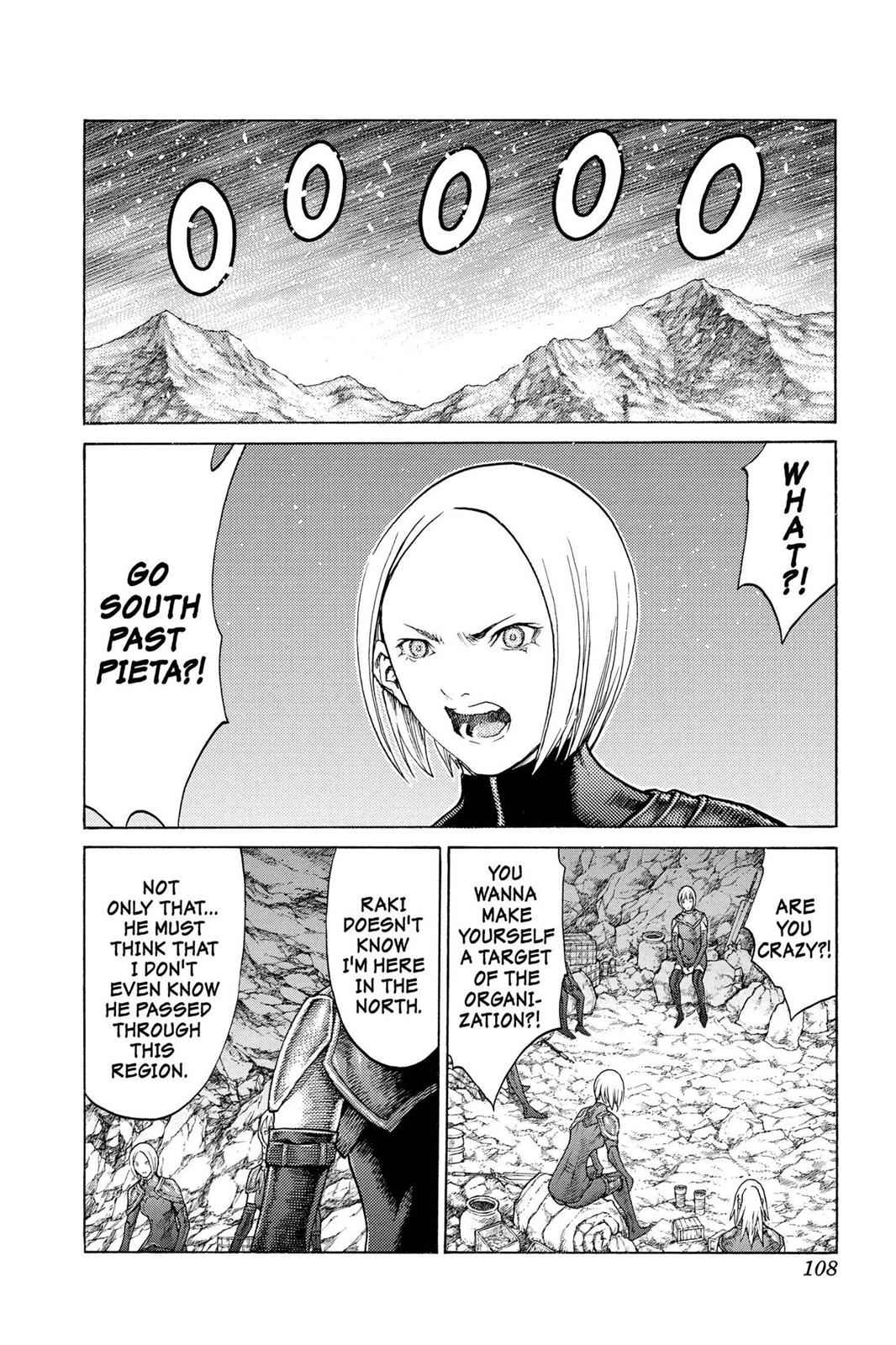Claymore Chapter 67 Page 5