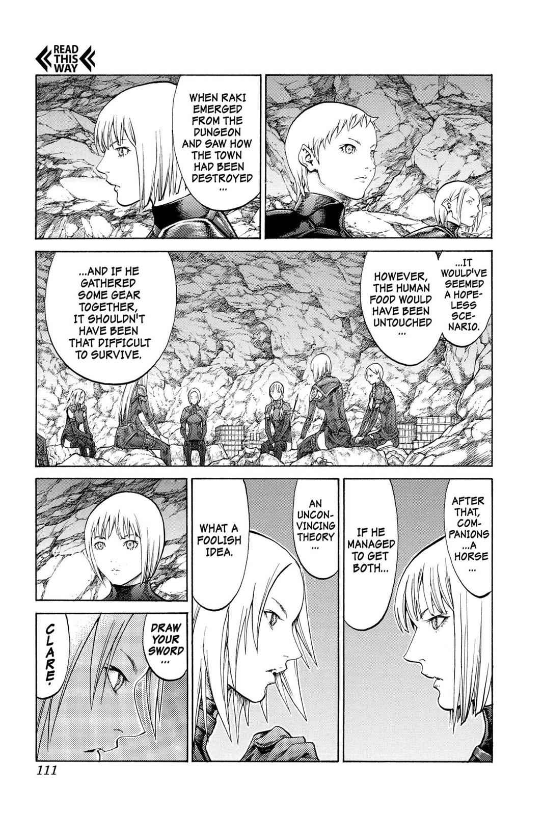 Claymore Chapter 67 Page 8