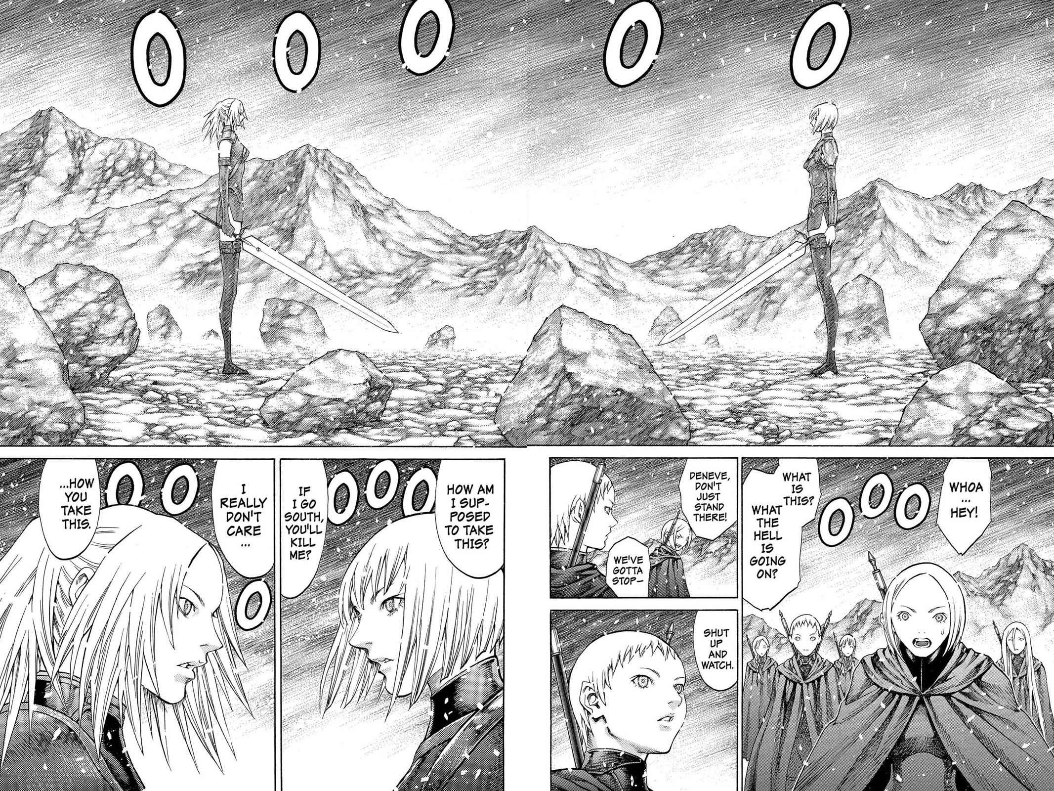 Claymore Chapter 67 Page 9