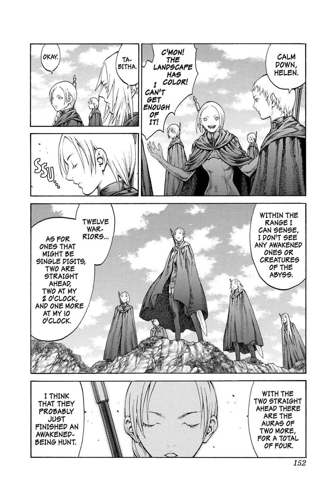 Claymore Chapter 68 Page 17
