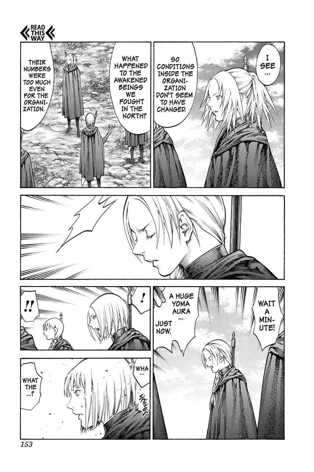 Claymore Chapter 68 Page 18