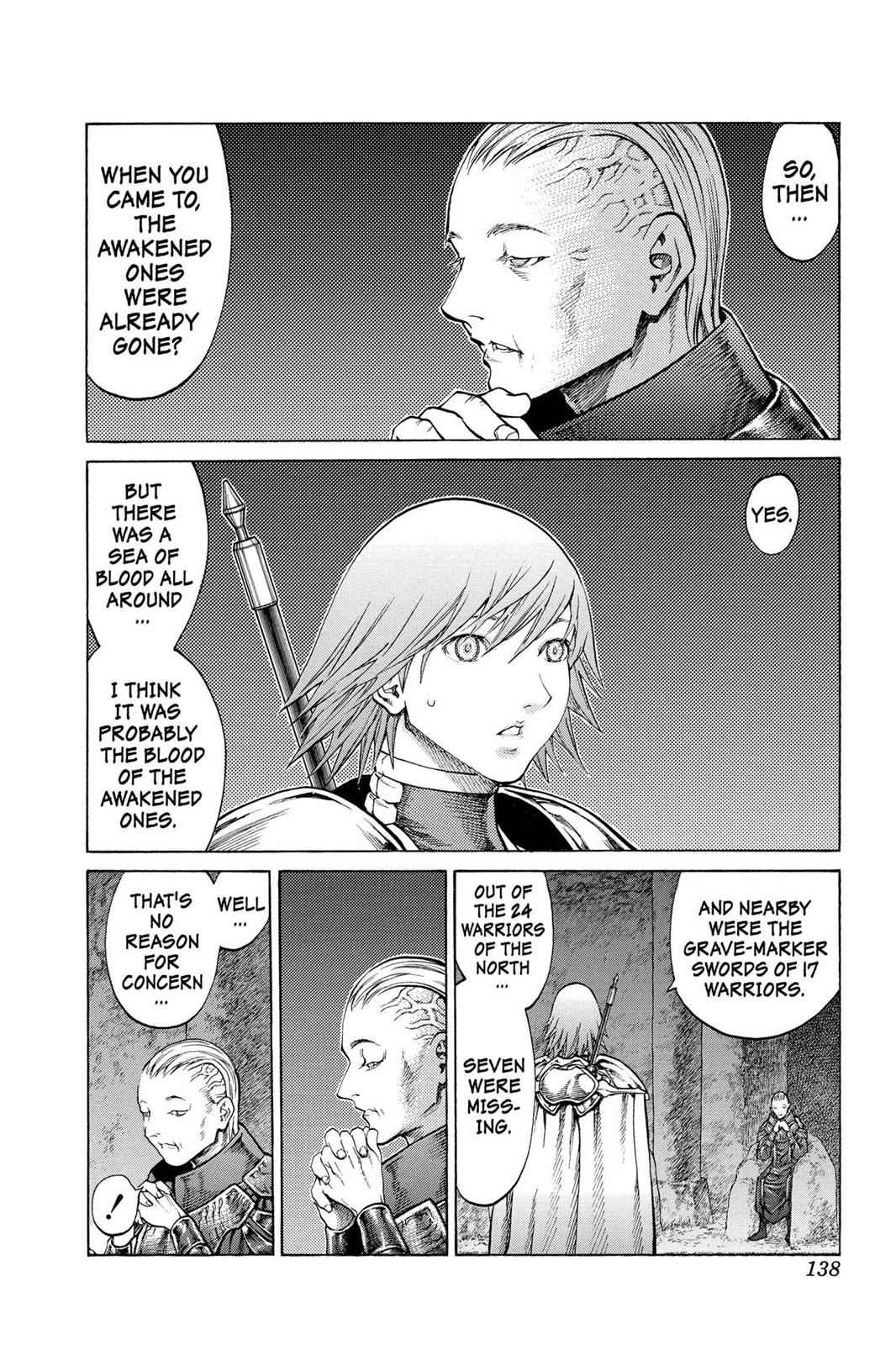 Claymore Chapter 68 Page 3