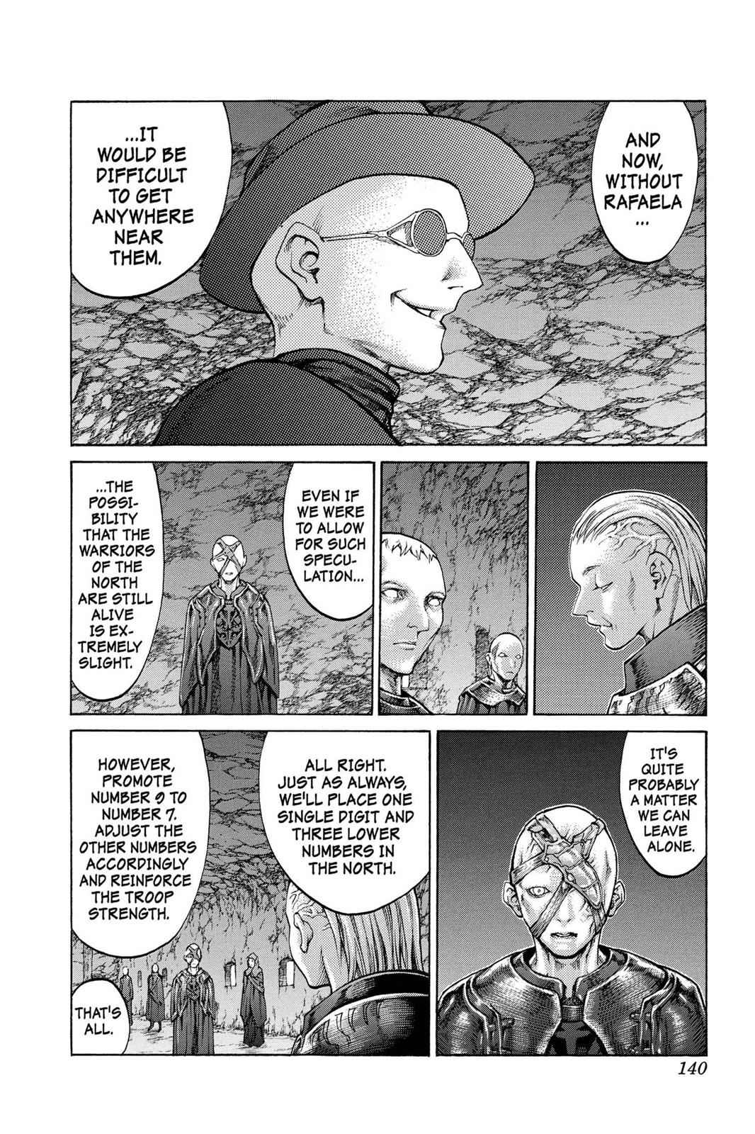 Claymore Chapter 68 Page 5