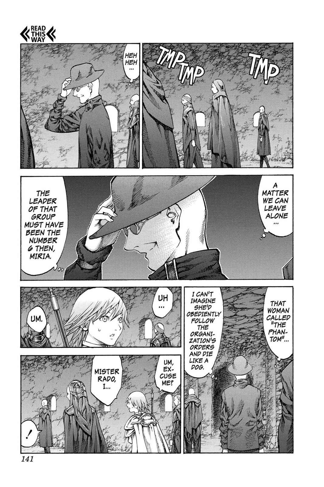 Claymore Chapter 68 Page 6