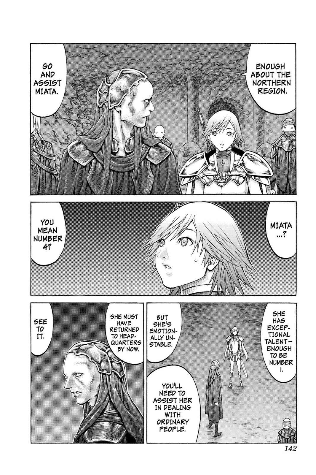 Claymore Chapter 68 Page 7