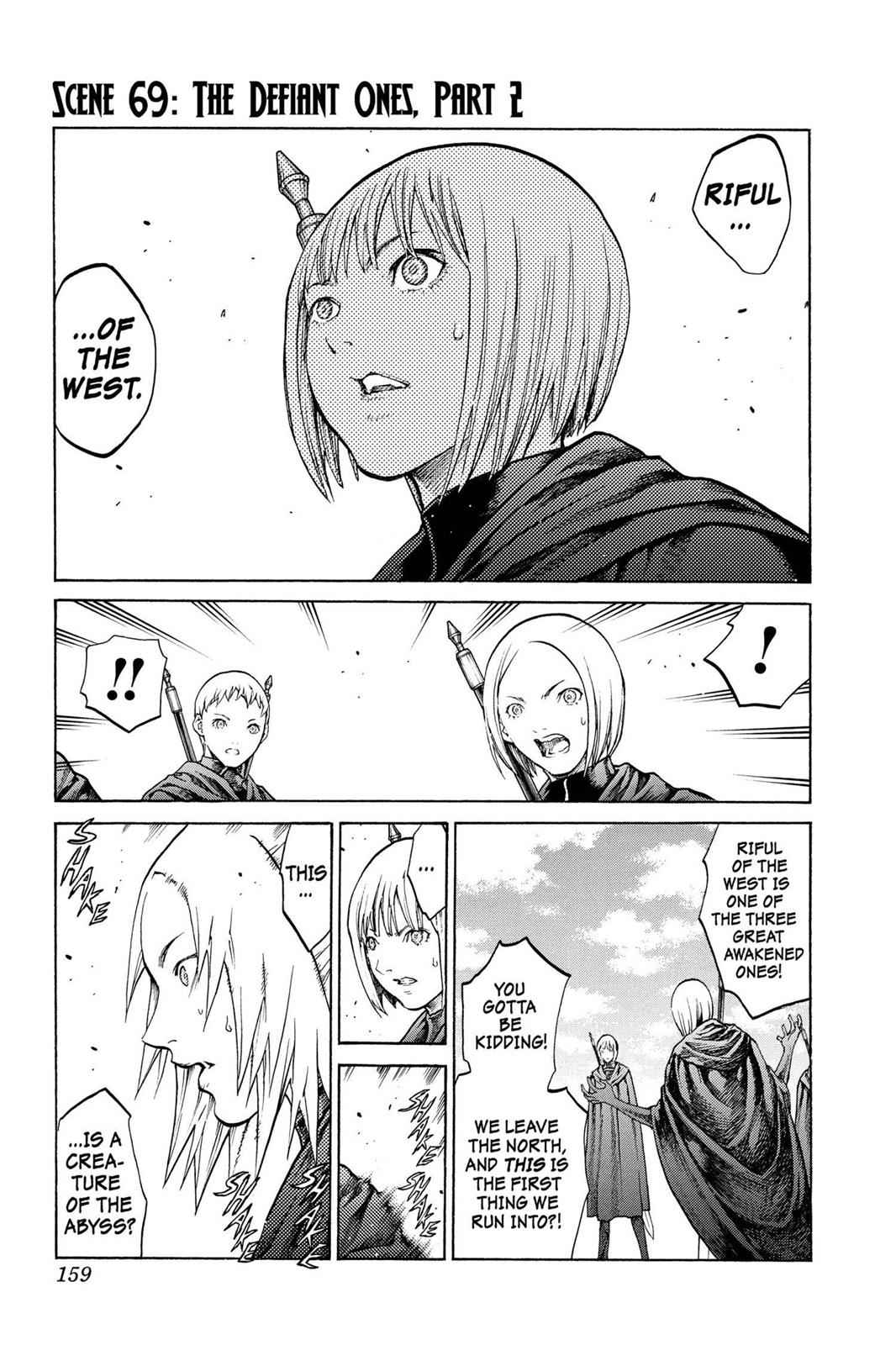 Claymore Chapter 69 Page 1