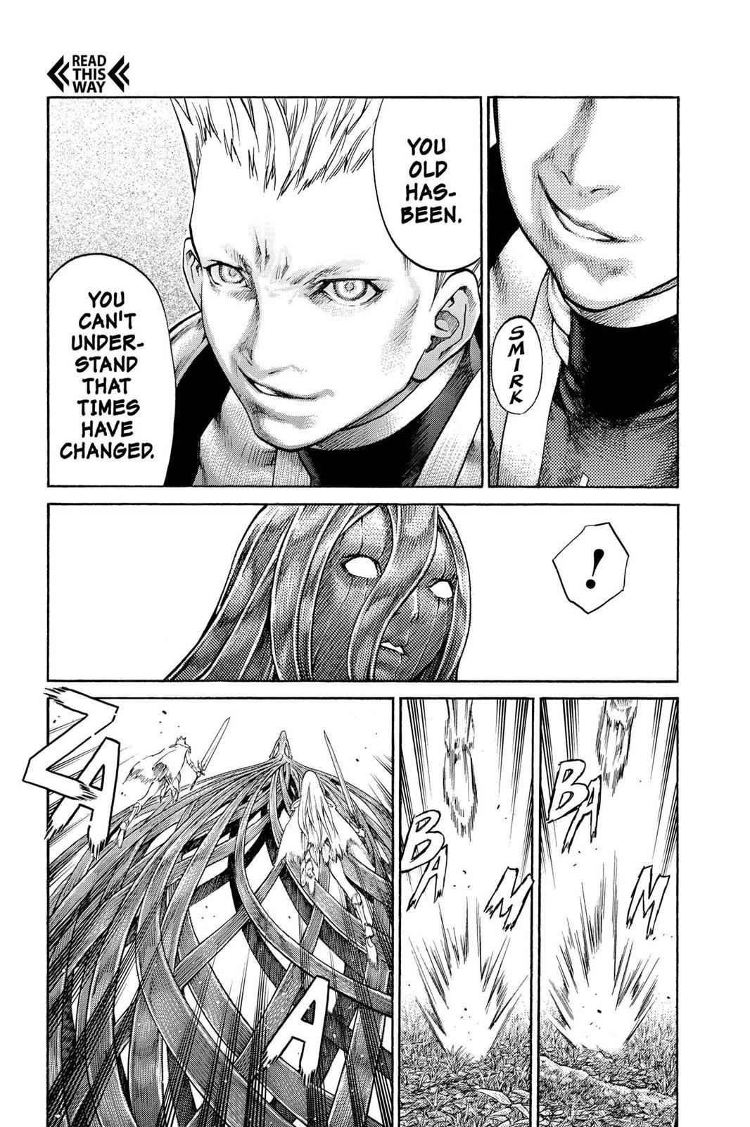 Claymore Chapter 69 Page 25