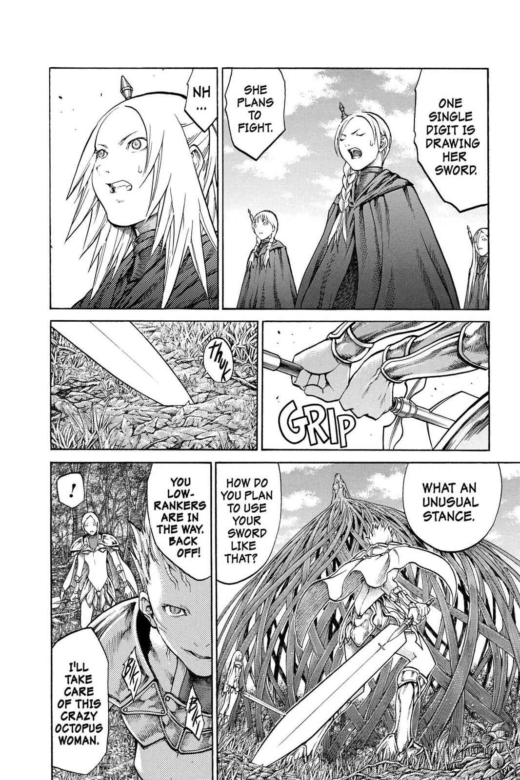 Claymore Chapter 69 Page 9