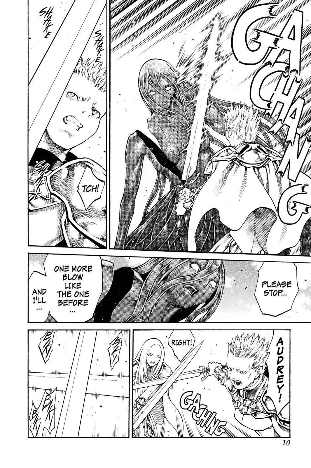 Claymore Chapter 70 Page 10