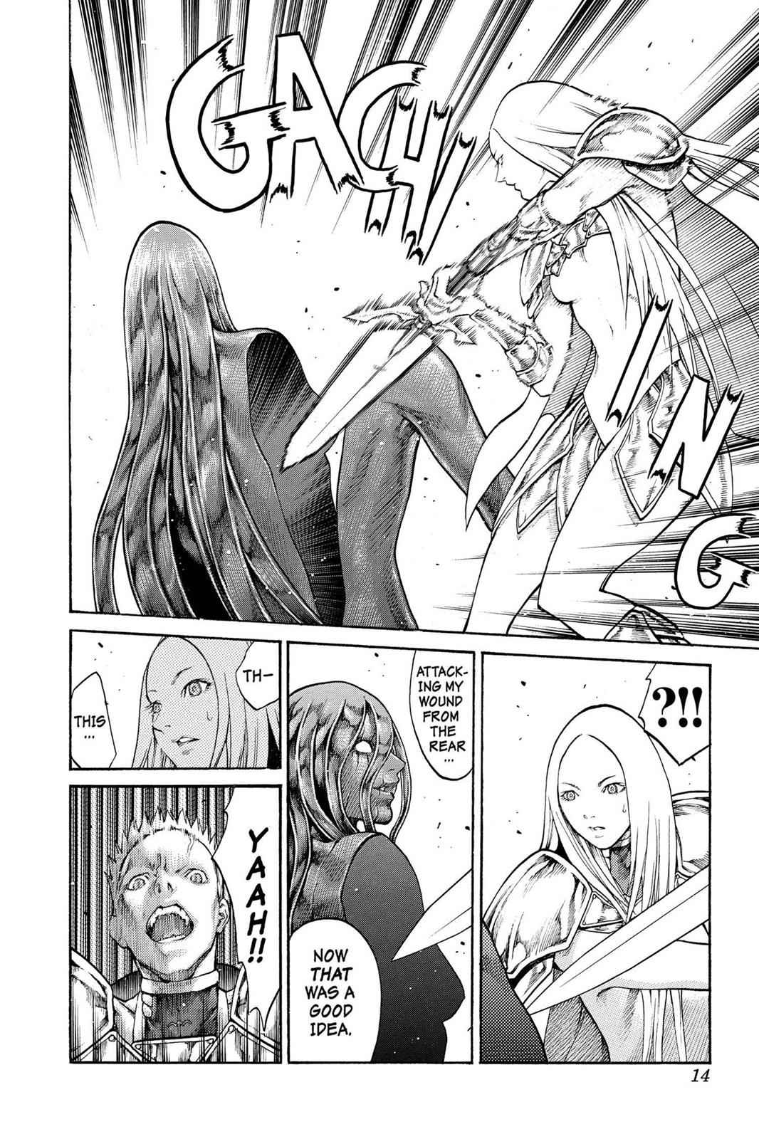 Claymore Chapter 70 Page 14
