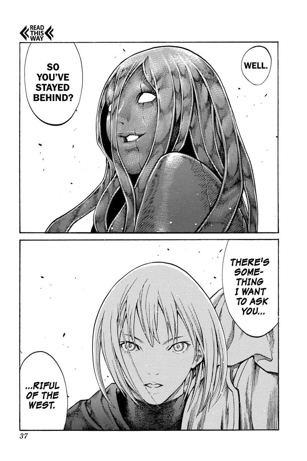 Claymore Chapter 70 Page 36