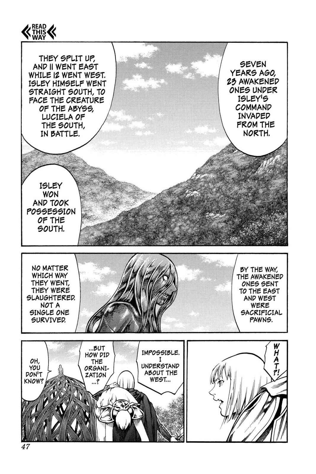 Claymore Chapter 71 Page 10
