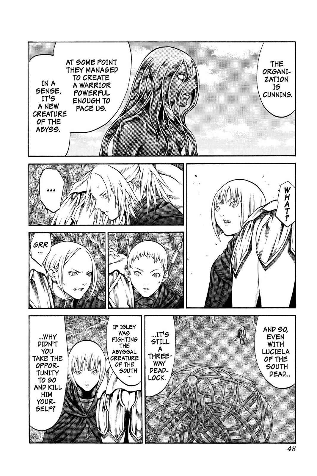 Claymore Chapter 71 Page 11