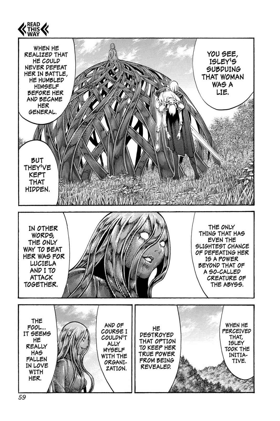 Claymore Chapter 71 Page 20