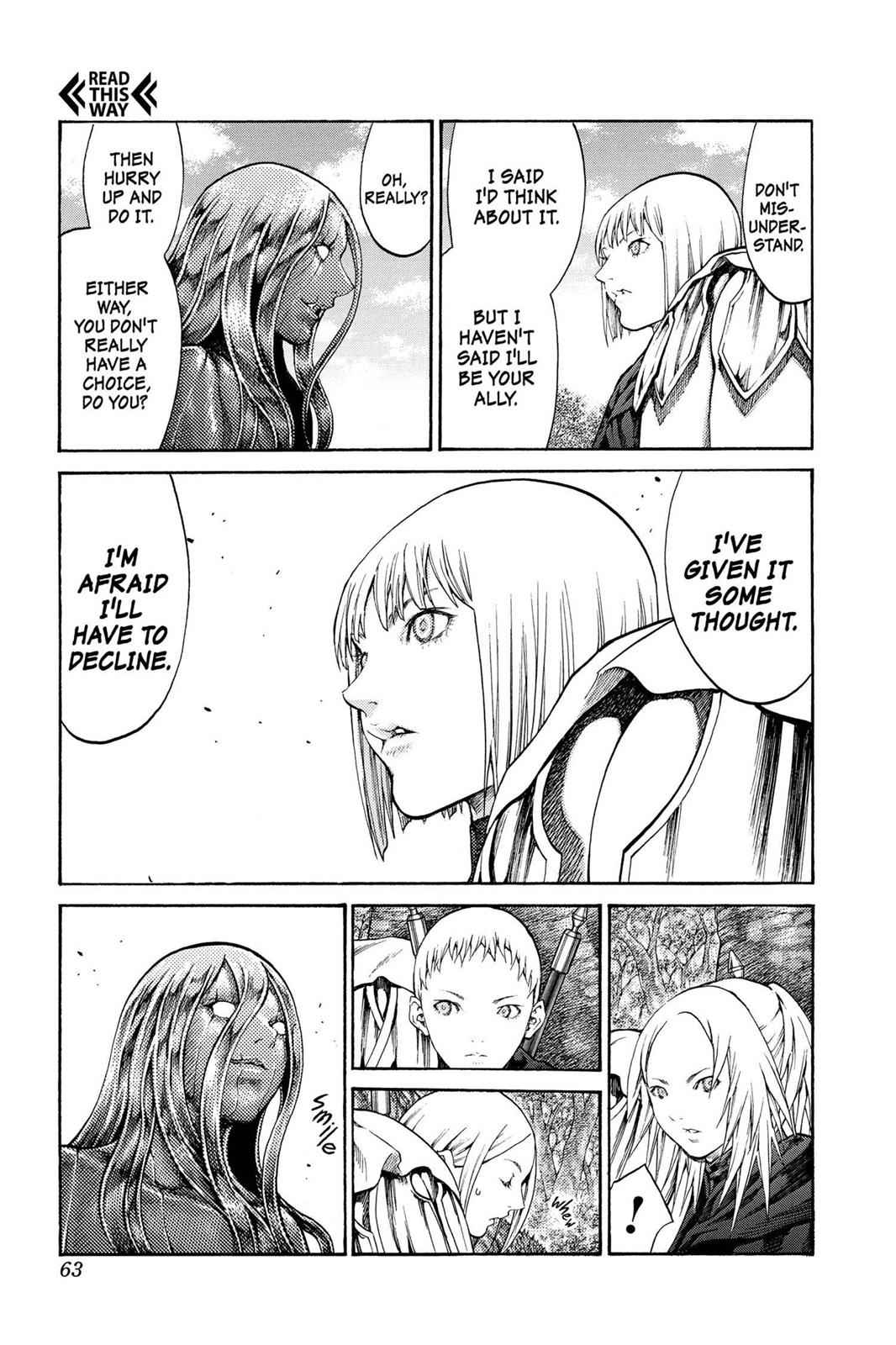 Claymore Chapter 71 Page 24