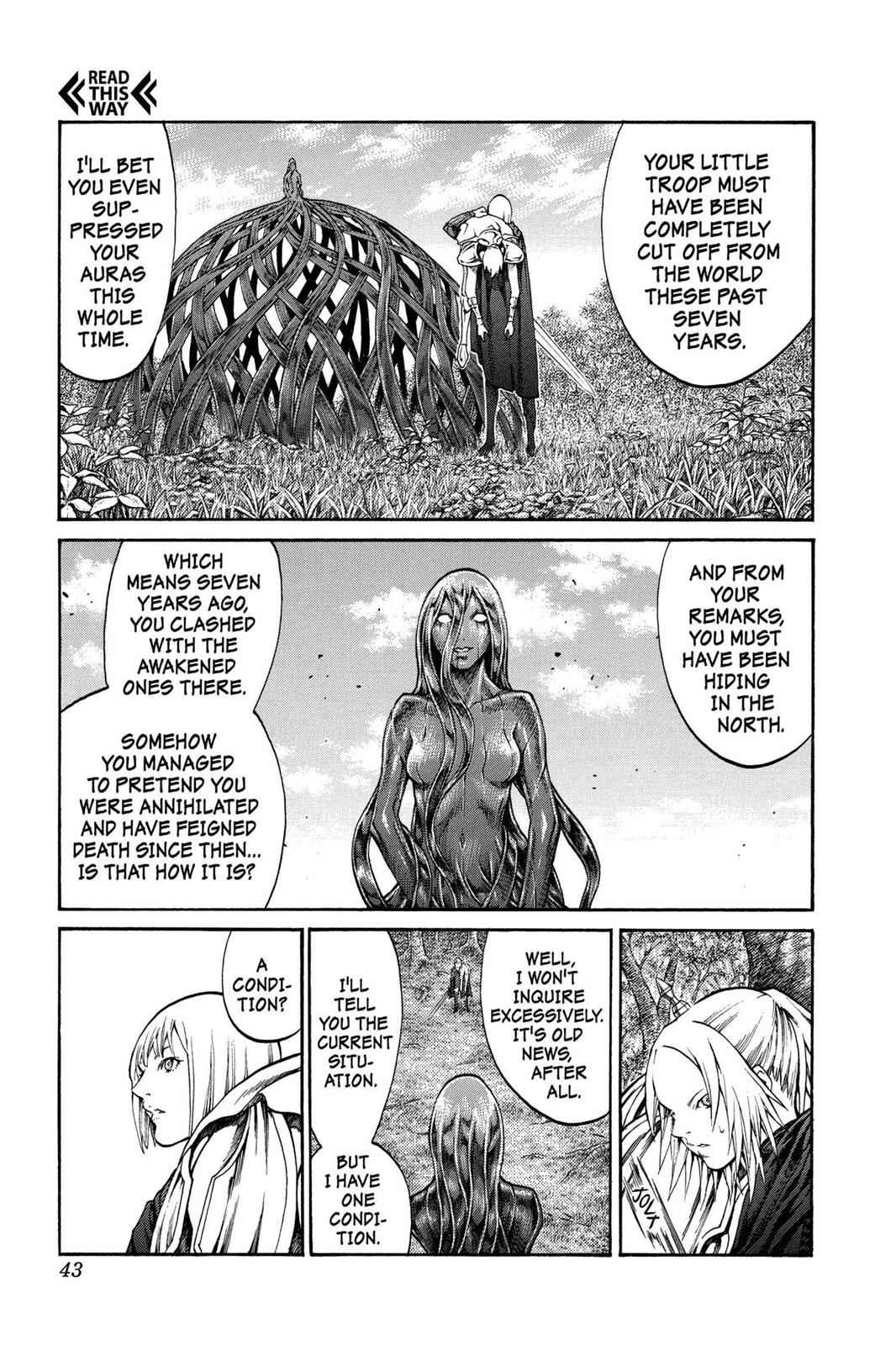 Claymore Chapter 71 Page 6