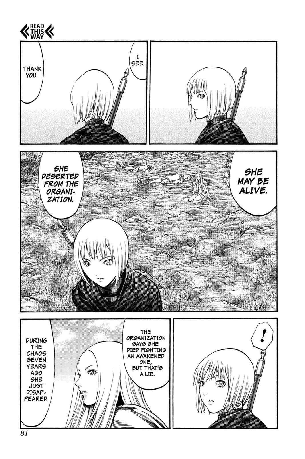 Claymore Chapter 72 Page 10